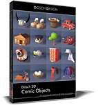 DOSCH 3D: Comic Objects